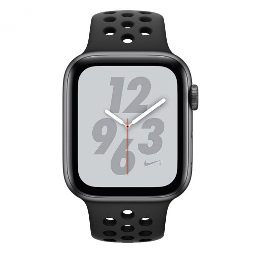 Watch Series 4 Nike Zwart