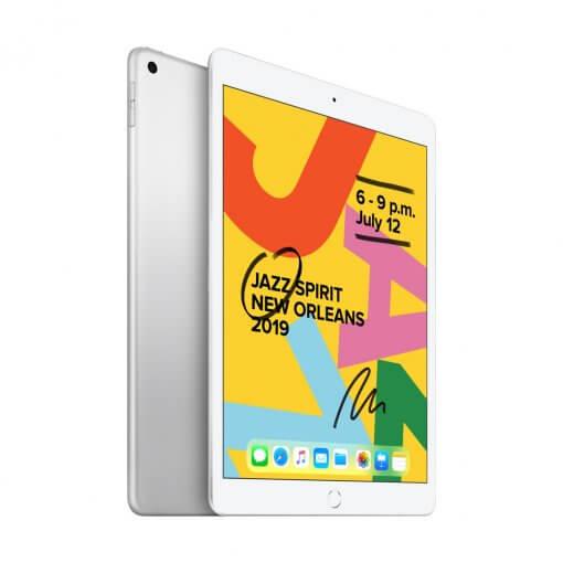 iPad 2019 - zilver - zijkant