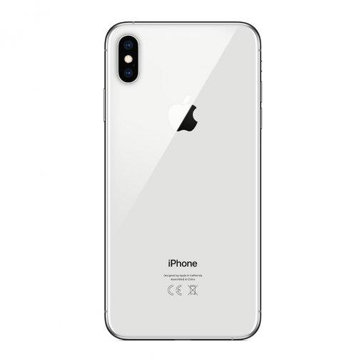 iPhone XsMax zilver achterkant