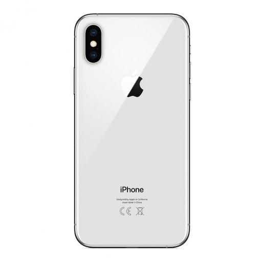 iPhone Xs zilver achterkant