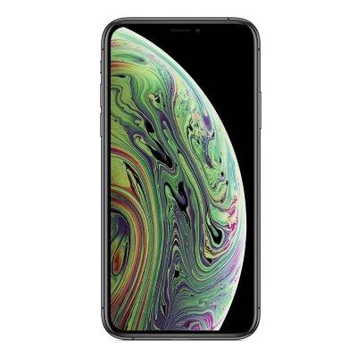 iPhone Xs zwart voorkant