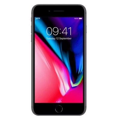 iPhone8 Plus zwart voorkant