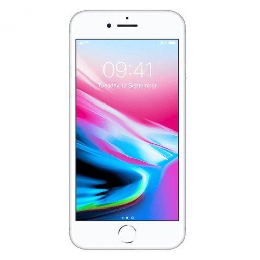 iPhone8 zilver voorkant