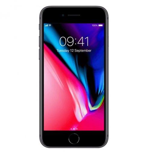 iPhone8 zwart voorkant