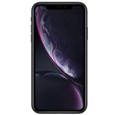 iPhone xr zwart voorkant