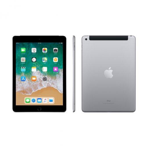 iPad 2018 zwart voor achter