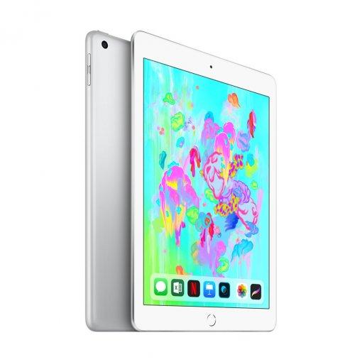 iPad 2018 zilver zij