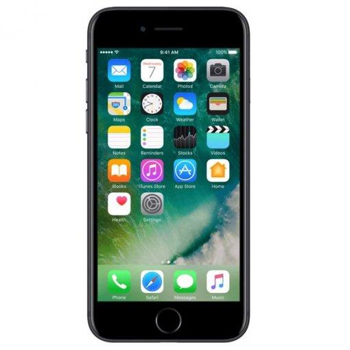 iphone 7 zwart voorkant