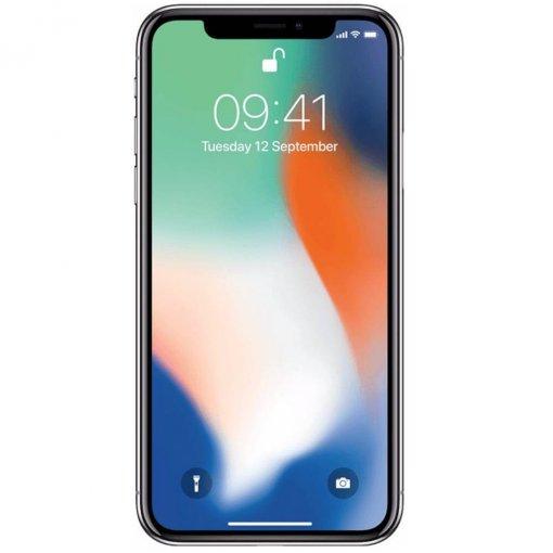 iphone x zilver voorkant
