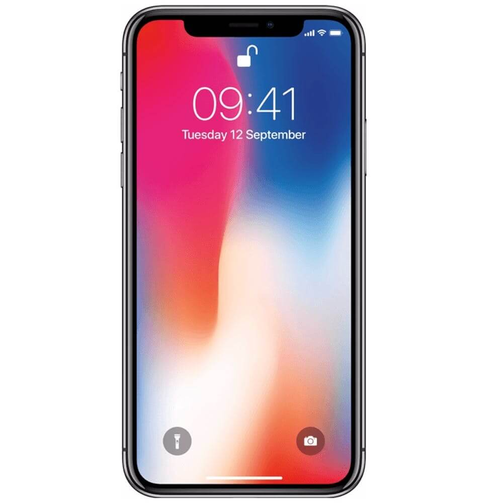 iphone x zwart voorkant