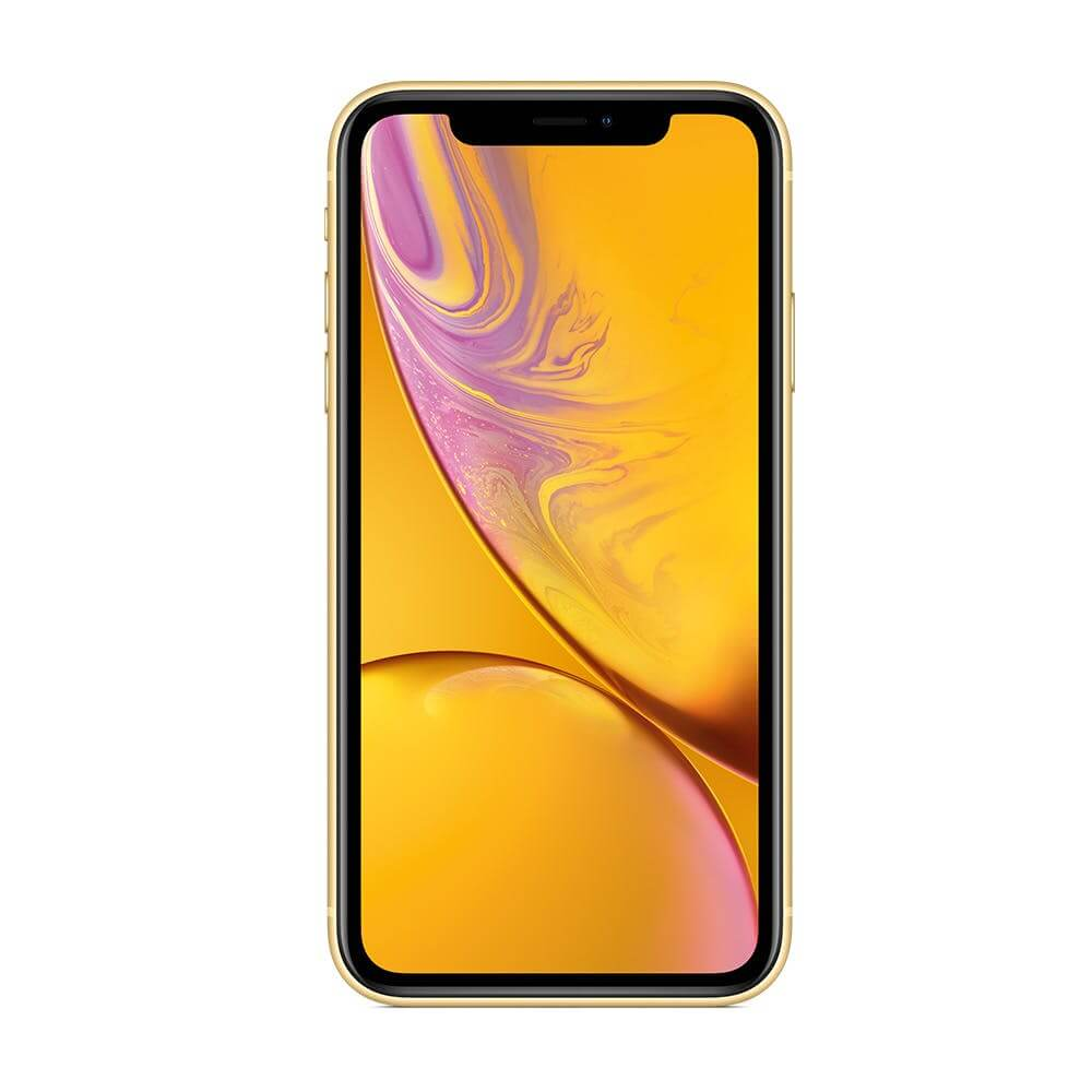 iPhone XR Geel front