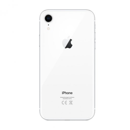 iphone xr wit achterkant