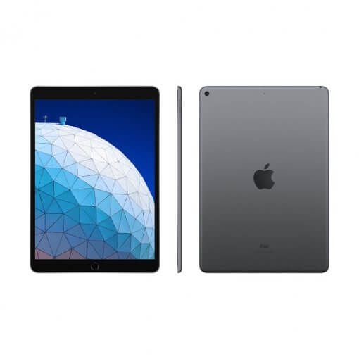 Apple iPad Air 2019 zwart front back
