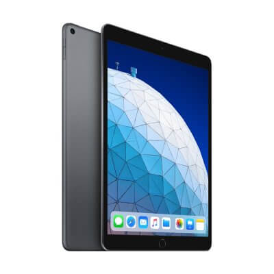 Apple iPad Air 2019 zwart front