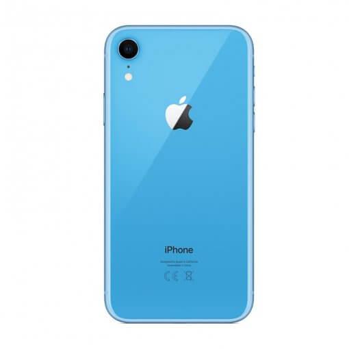 iphone xr blauw achterkant