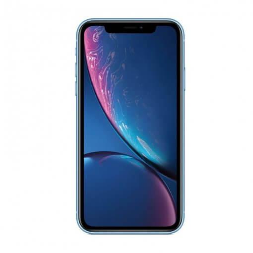 iphone xr blauw voorkant