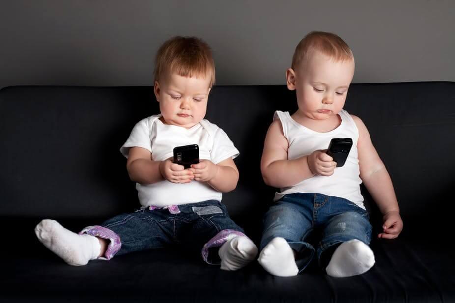 kinderen verslaafd iPhone