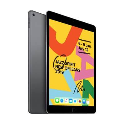 iPad 2019 - spacegray - zijkant