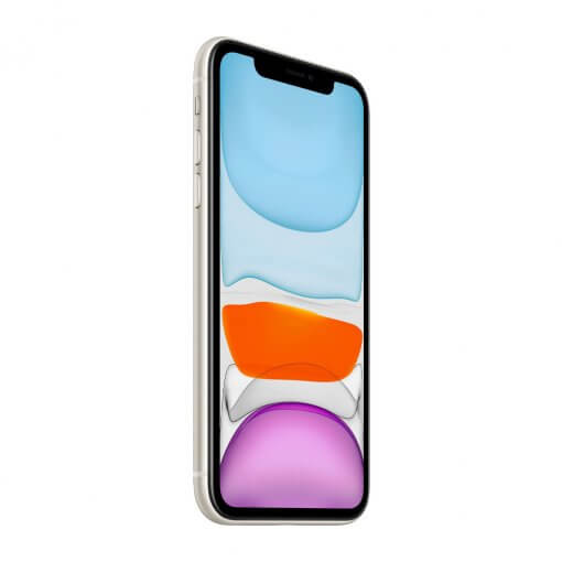iPhone 11 - wit - zijkant