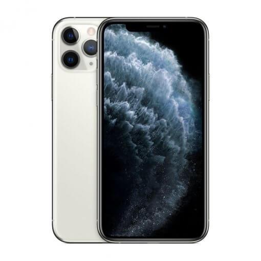 iPhone11 Pro Max - zilver - voorkant en achterkant