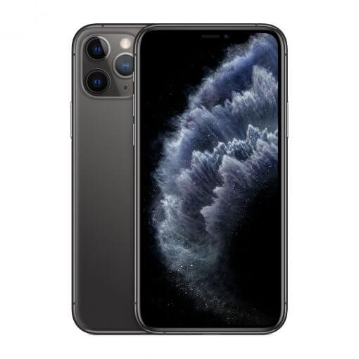 iPhone11 Pro Max - zwart - voorkant en achterkant