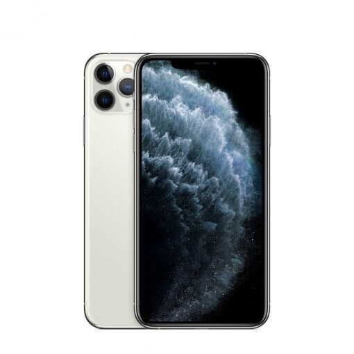 iPhone11 Pro - zilver - voorkant en achterkant