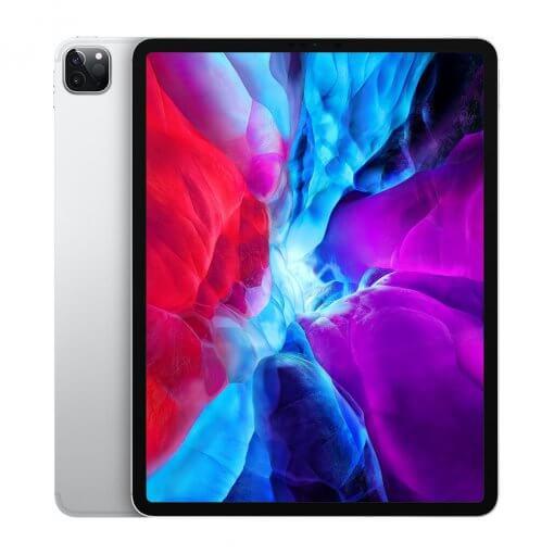 iPad Pro 2020 12,9 front zilver